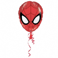 Spider-man Face Foil Helium Balloon
